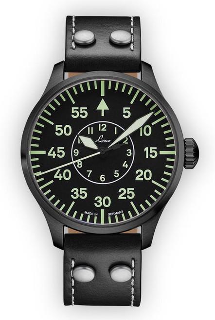 Laco Basic Pilot Watch 42mm Automatic Bielefeld 861760.2 Type B