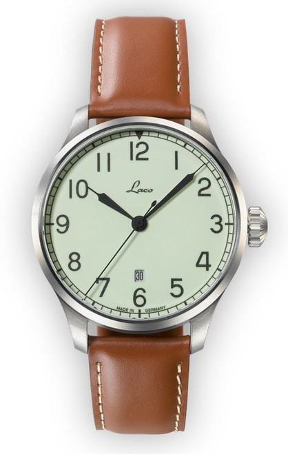 Laco Navy Watches 42mm Automatic Valencia 861651.2