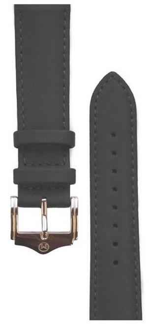 Melbourne Nappa Leather Black Watch Strap - 20mm