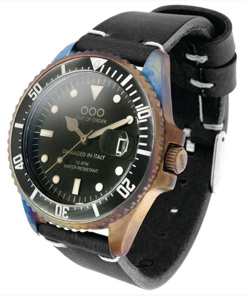 OOO Diver 44mm Strong Black