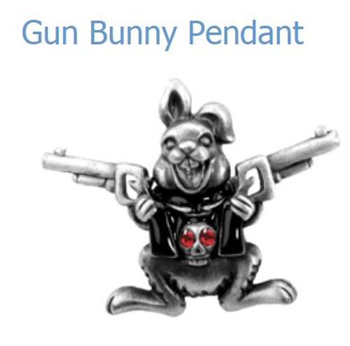 YTC Summit 2646 Gun Bunny Pendant