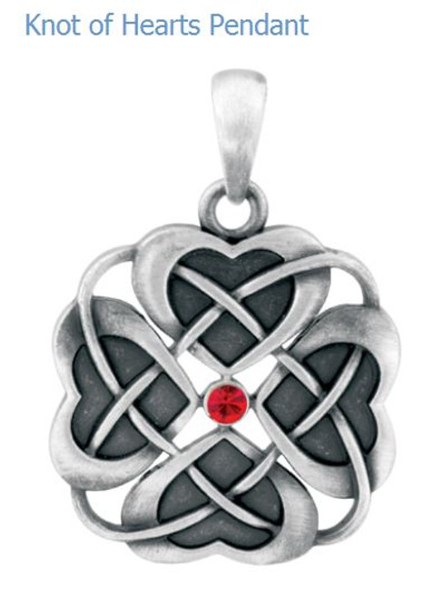 YTC Summit 2812 Knot Of Hearts Pendant