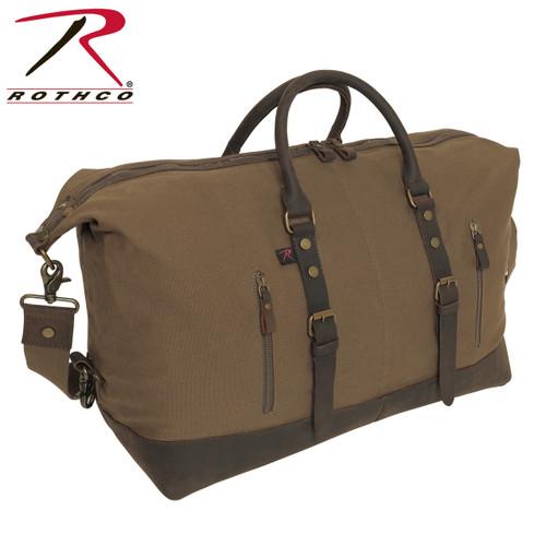 78d144332b6e Rothco Canvas Trailblazer Laptop Bag - Earth Brown - Hero Outdoors
