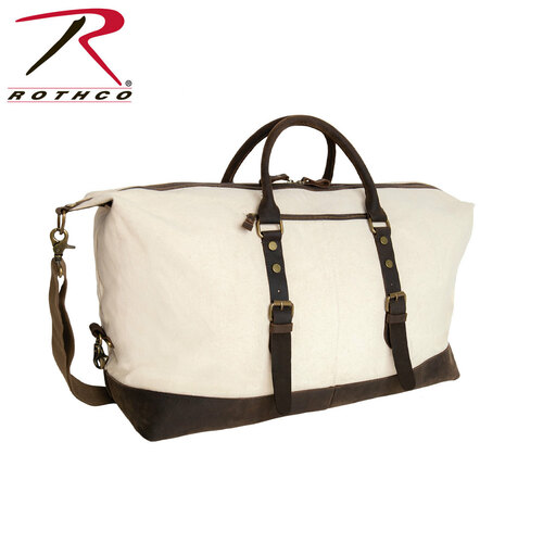 Rothco Extended Weekender Bag - Natural