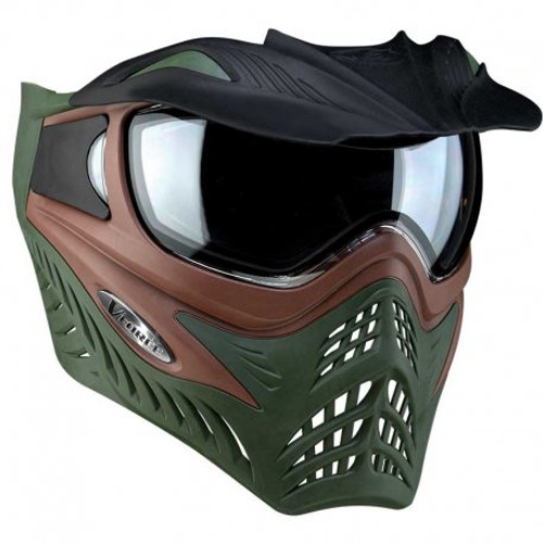 VForce Grill Paintball Mask - Terrain Brown/Olive