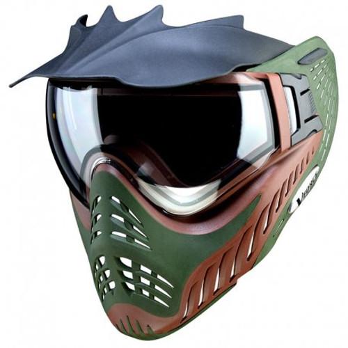 VForce Profiler Paintball Mask - Terrain Brown/Olive