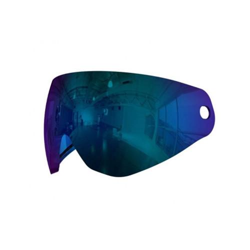 HK Army Mirror Cobalt Blue Paintball Lens