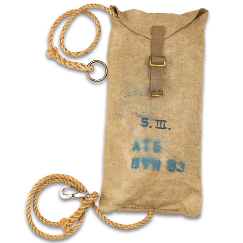 Danish Pioneer Rope With Stuff Sack -Olive Drab Colour