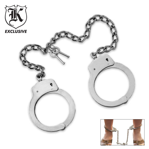 Kriegar Double Lock Leg Cuffs