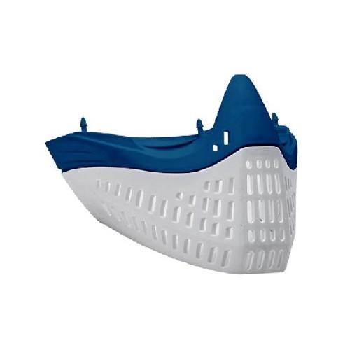 E-Flex Faceplate Blue/White
