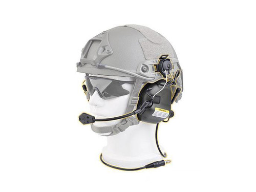 Earmor M32H MOD3 Tactical Communication Hearing Protector for FAST MT Helmets (Color: Tan)