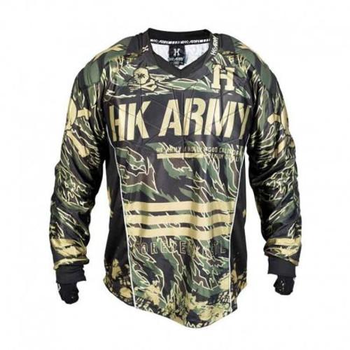 HK Army Hardline Jersey Blank Camo - Medium