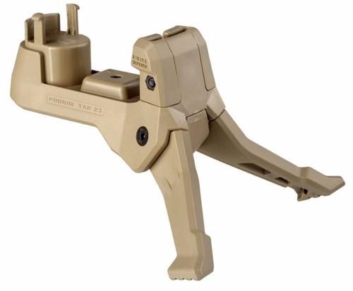 Fab Defense Tar Podium Quick Deployment Polymer Bipod TAR 21 - Tan