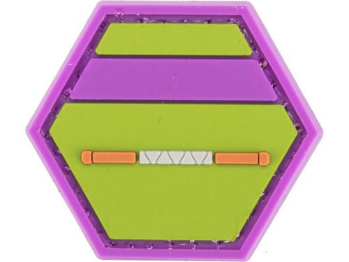 """Operator Profile PVC Hex Patch"" Geek Series - Donatello"