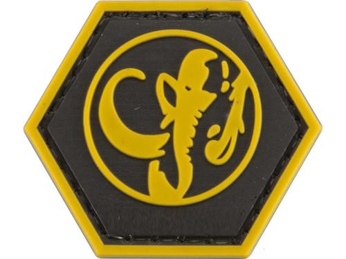 """Operator Profile PVC Hex Patch"" Geek Series - Black Ranger"