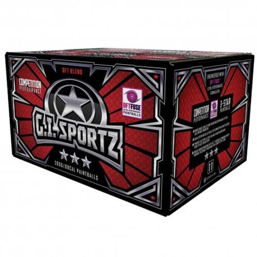 GI Sportz Paintballs - 3 Star