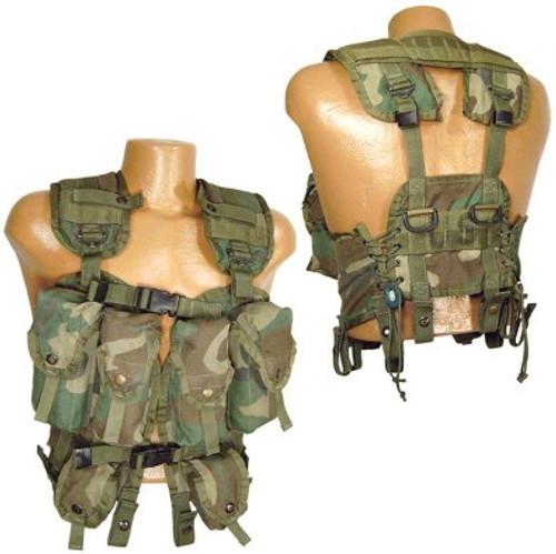 U.S. Armed Forces Woodland Load Bearing Vest