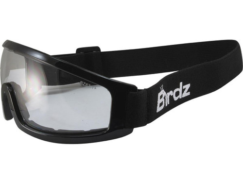 97da72792bf Birdz Eyewear Robin Low Profile ANSI Z87.1 Goggles (Color  Clear)