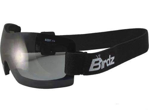 Birdz Eyewear Wren Lightweight ANSI Z87.1 Goggles (Color: Smoke)