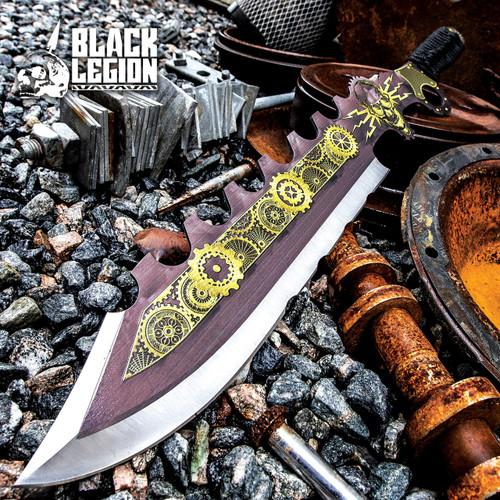 Black Legion Aether Master Steamer Sword w/Sheath
