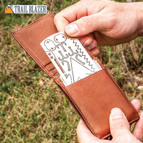 Trailblazer Survival Multi-Tool Card