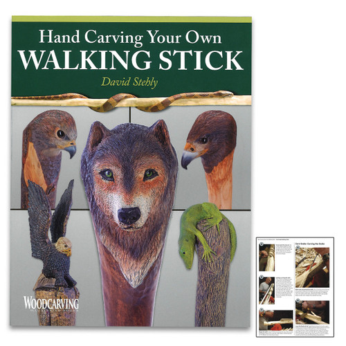 Hand-Carving Your Own Walking Stick Guide