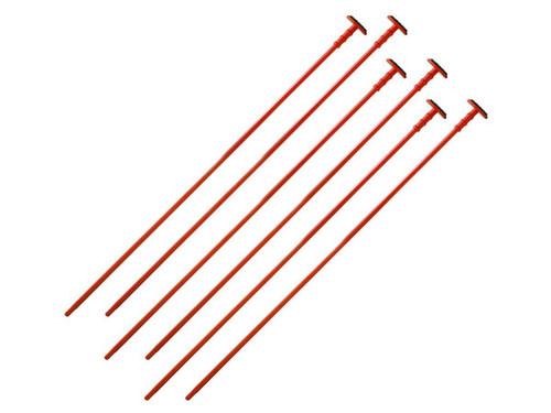 Gun Storage Solutions Rifle Rod Add-On Kit (Kit: 6 Orange 22 Cal. Rifle Rods)