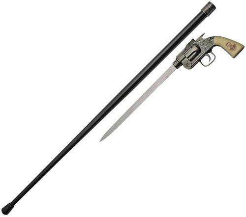 Doc Hol Revolver Sword Cane