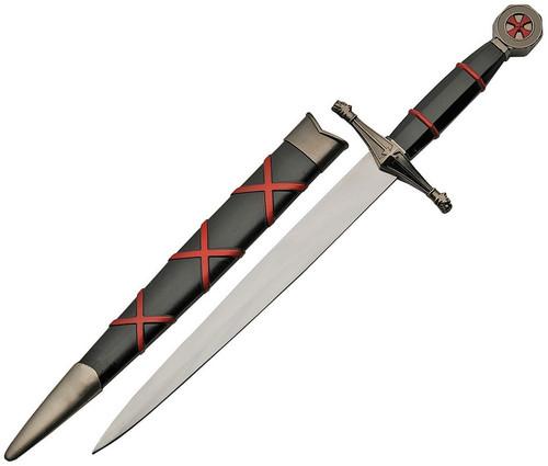 Knights Templar Dagger Red