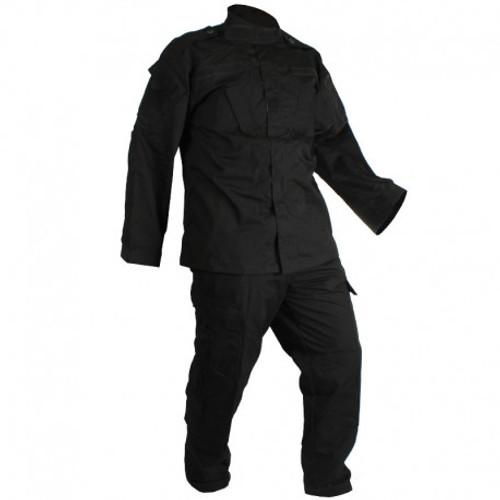 Combat Uniform - 2 Piece Set - Pants and Jacket - Black