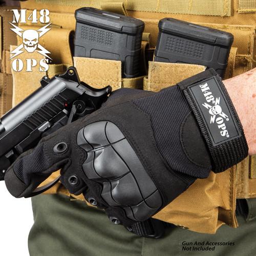 M48 Tactical Full Finger Gloves