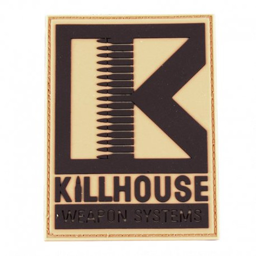 Killhouse Weapon Systems PVC 4x3 Patch - Tan