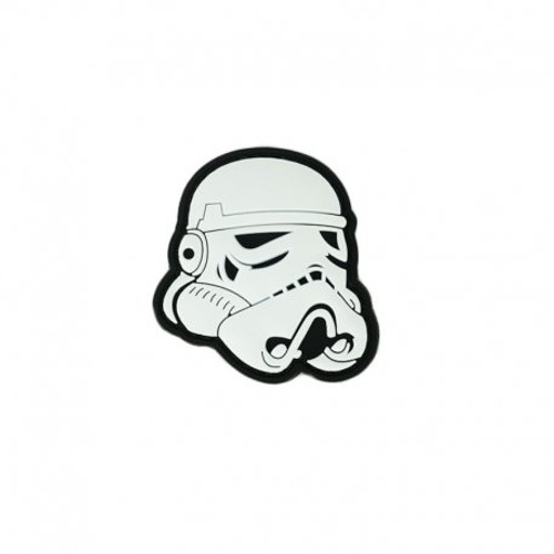 Morale Patch - Stormtrooper White