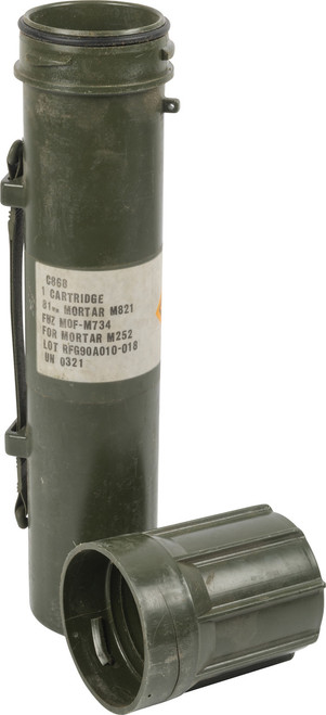 U.S. Armed Forces M821 Mortar Tube