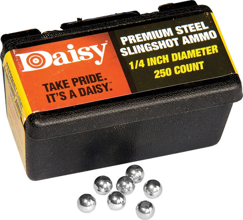 Steel Slingshot Ammo .25in