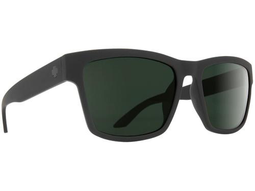 Spy Optic Haight 2 Sunglasses (Color: Matte Black Frame / HD Plus Gray Green Lens)
