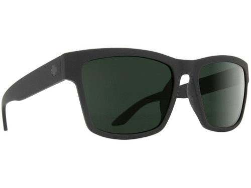 Spy Optic Haight 2 Sunglasses (Color: Matte Black Frame / HD Plus Gray Green Lens / Polarized)