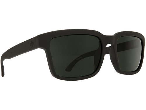 Spy Optic Helm 2 Sunglasses (Color: Matte Black Frame / HD Plus Gray Green Lens)