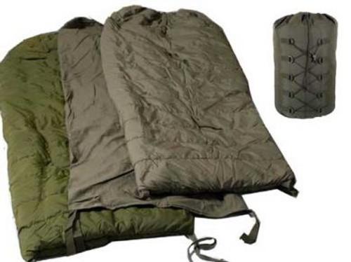Canadian Armed Forces 9 Piece Sleeping System w/Bivy Bag/Hood/Bug Bar