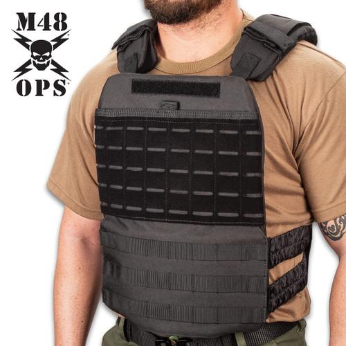 M48 Laser Cut Tactical Plate Carrier Vest