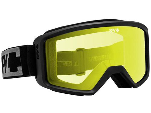 Spy Optic Shield ANSI Z87.1 Goggles (Color: Black Frame / Yellow Lens)
