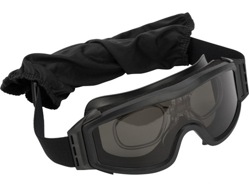 Valken V-TAC Tango Thermal Lens Goggles (Color: Black)