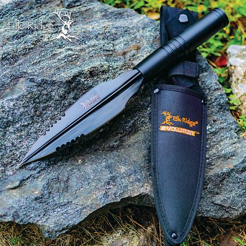 Elk Ridge Covert Spear Point w/Sheath