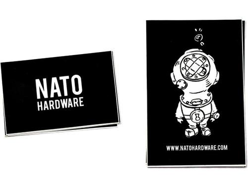 NATO Hardware Die-Cut Vinyl Sticker set
