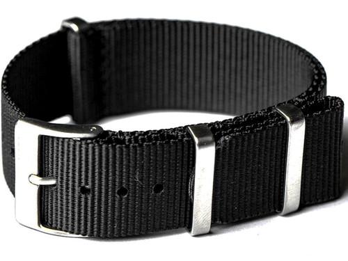 NATO Hardware EDC Watch Strap (Color: Black / 20mm)