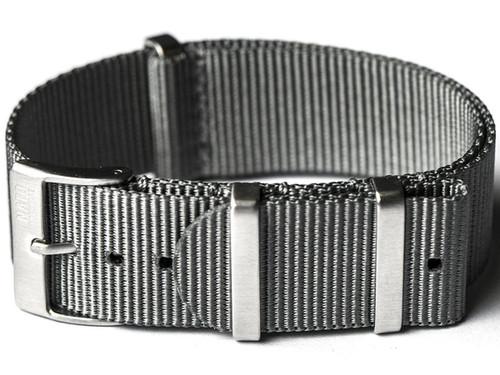 NATO Hardware EDC Watch Strap (Color: Grey / 20mm)