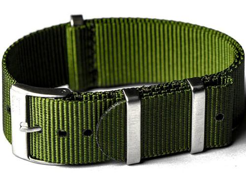 NATO Hardware EDC Watch Strap (Color: Olive Drab / 20mm)