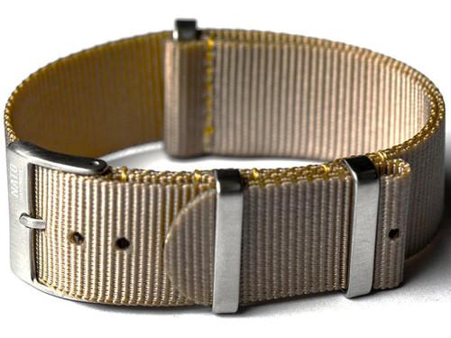 NATO Hardware EDC Watch Strap (Color: Tan / 20mm)