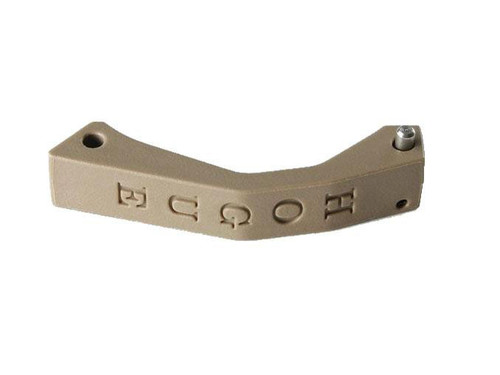 Hogue AR-15/M-16 Polymer Trigger Guard Contour with Hardware (Color: Dark Earth)