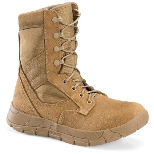"""Corcoran 8"""" Hot Weather Military Boot - Coyote Tan"""